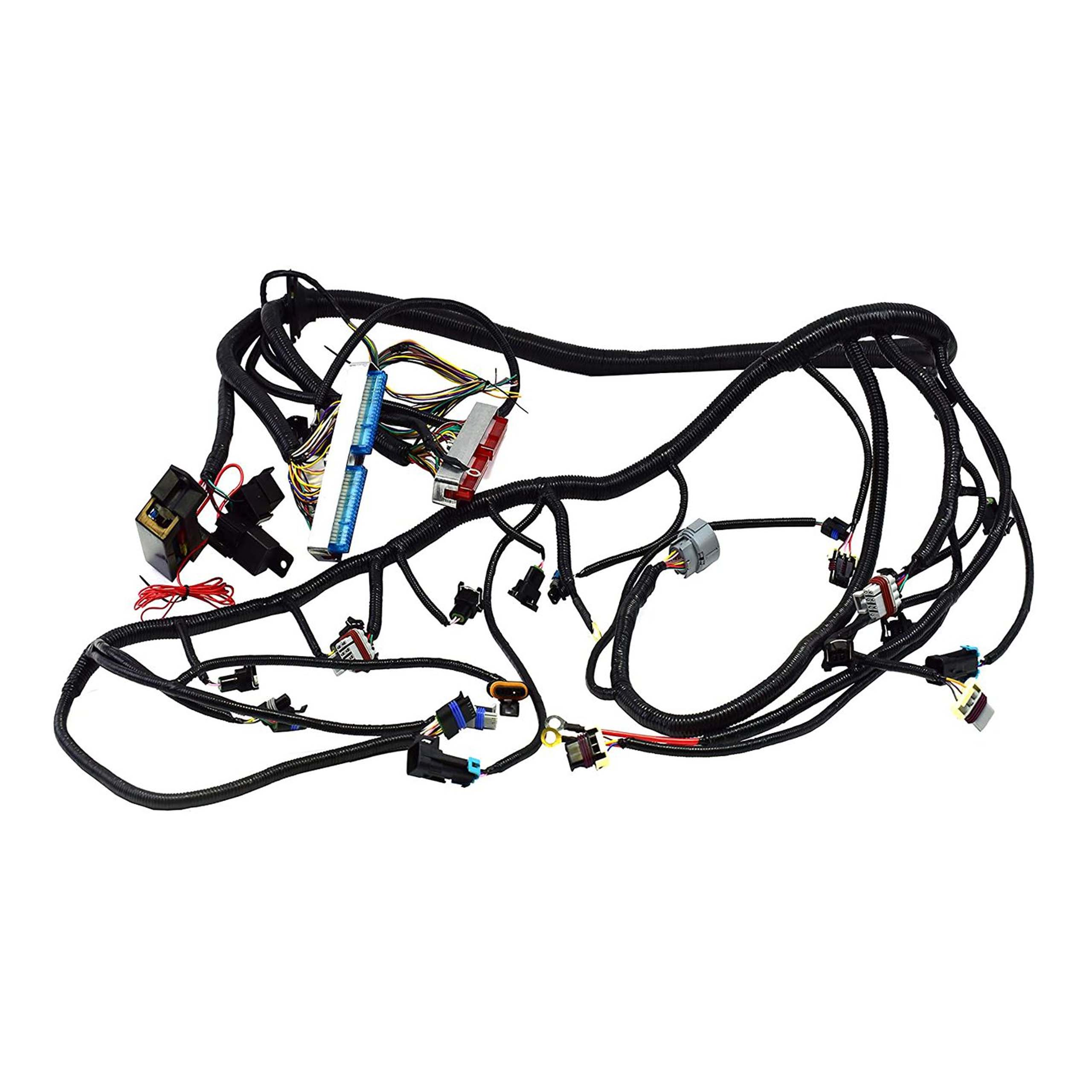 A-Team Performance Standalone Wiring Harness W/4L60E DBC Compatible With  4.8 5.3 6.0 GM LS LS1 LS6 LS Truck Swap Vortec 1999-2003  Southwest Performance Parts