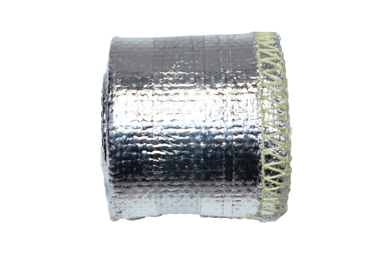 """A-Team Performance Heat Sheath Aluminized Sleeving for Ultimate Heat Shield Protection Barrier 3/4"""" x 36"""" (3ft)"""