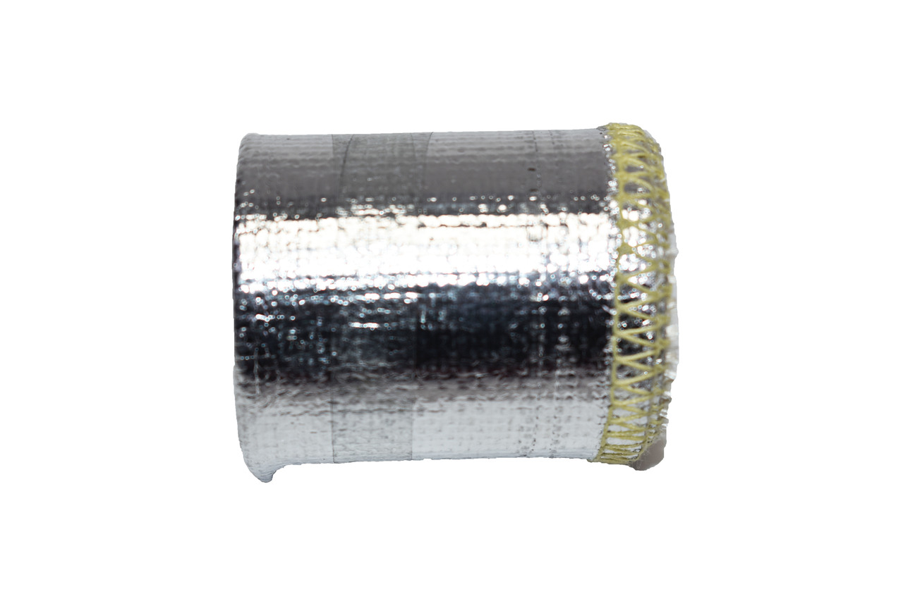 """A-Team Performance Heat Sheath Aluminized Sleeving for Ultimate Heat Shield Protection Barrier 1"""" x 36"""" (3ft)"""