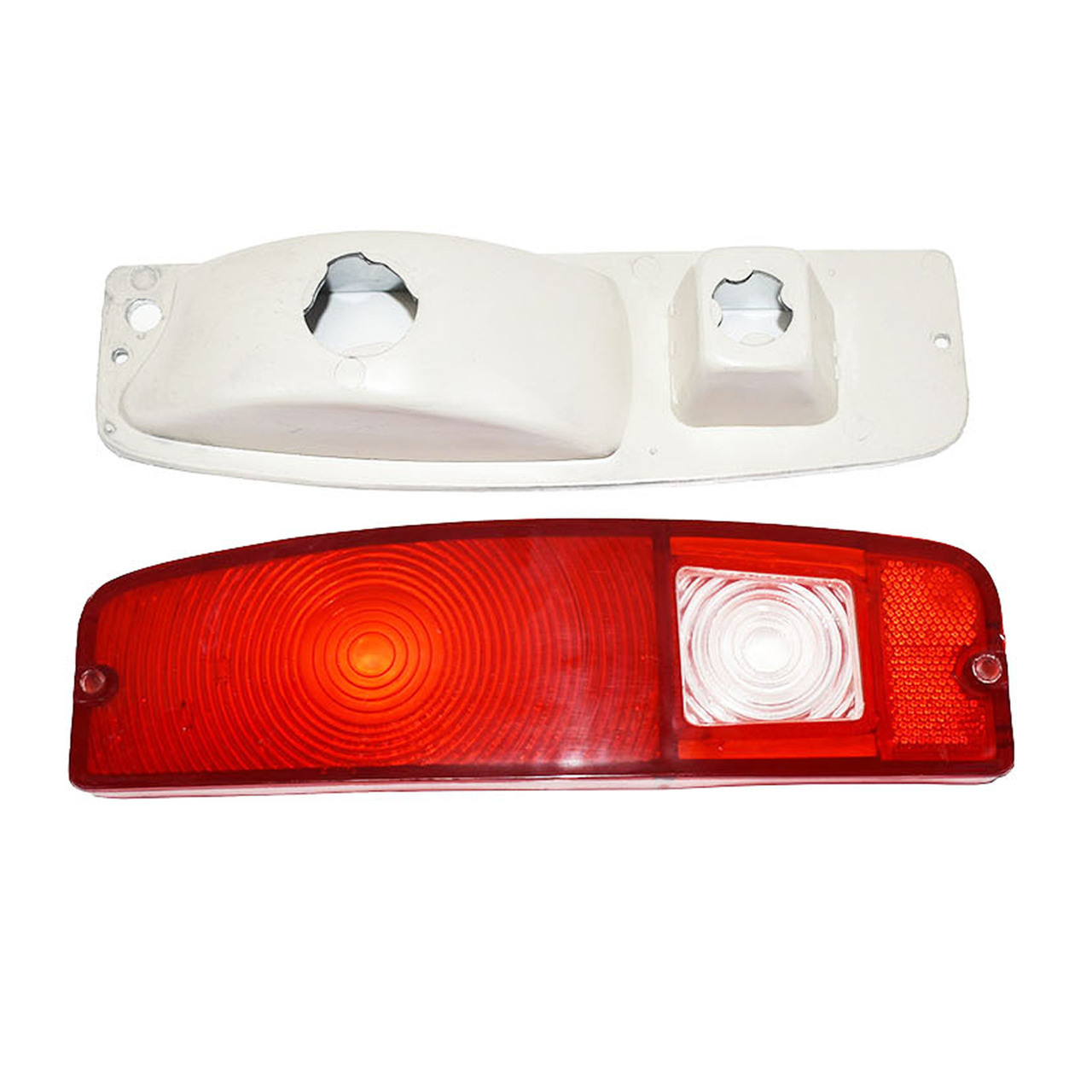 A-Team Performance 66-77 FORD Bronco Light Lens Set With Housing F100 F-100 F150 F-150 F-Series