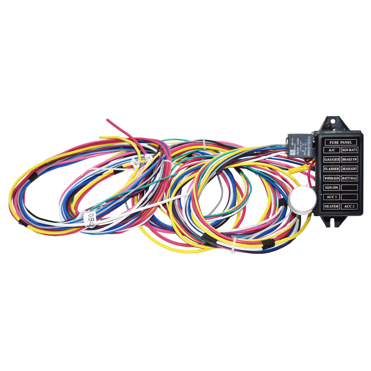 A-Team Performance Street 12 Circuit Universal Wire Harness New Long WiresSouthwest Performance Parts