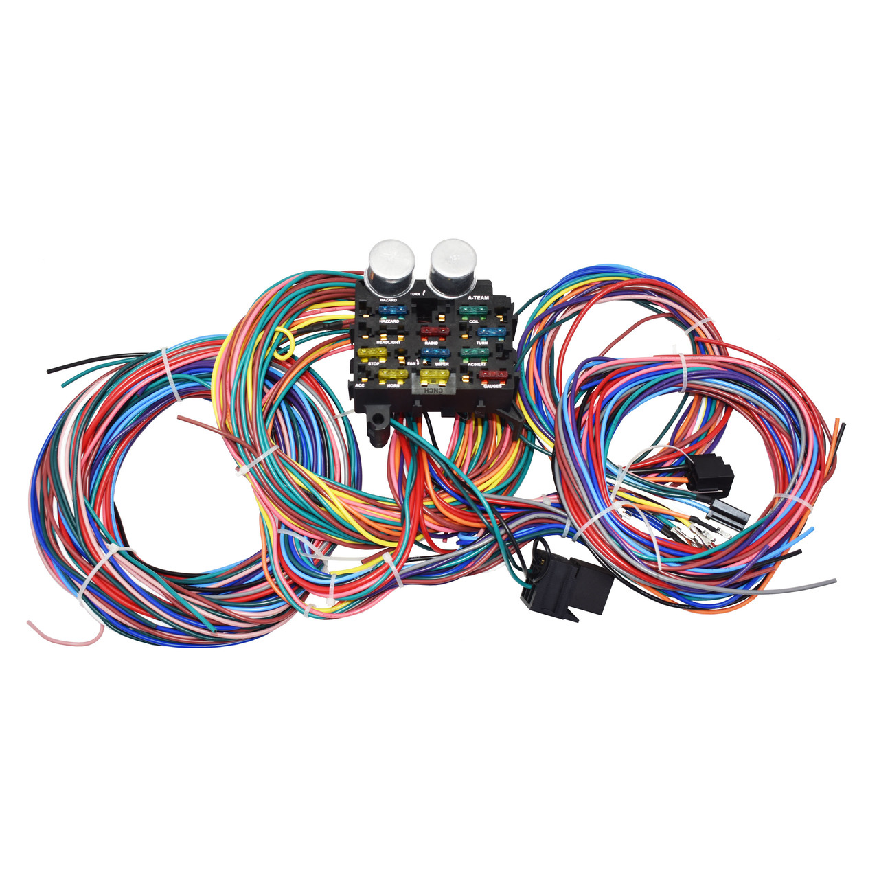 [SCHEMATICS_49CH]  A-Team Performance 12 Circuit Custom Universal Color Wiring Wire Kit XL | Universal Wiring Harness Kit |  | Southwest Performance Parts