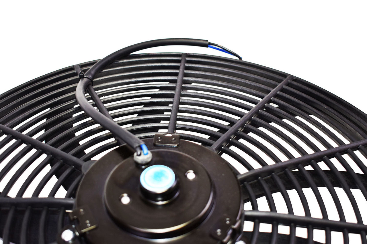 "A-Team Performance 16"" Heavy Duty 12V Radiator Electric Wide Curved S Blade FAN 3000"