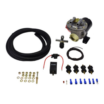 A-Team Performance BRAKE BOOSTER ELECTRIC VACUUM PUMP KIT 12V