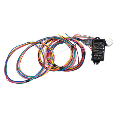 A-Team Performance 14 Circuit Basic Wire Kit Small Wiring Harness Rat Street Rod Sand Car Truck