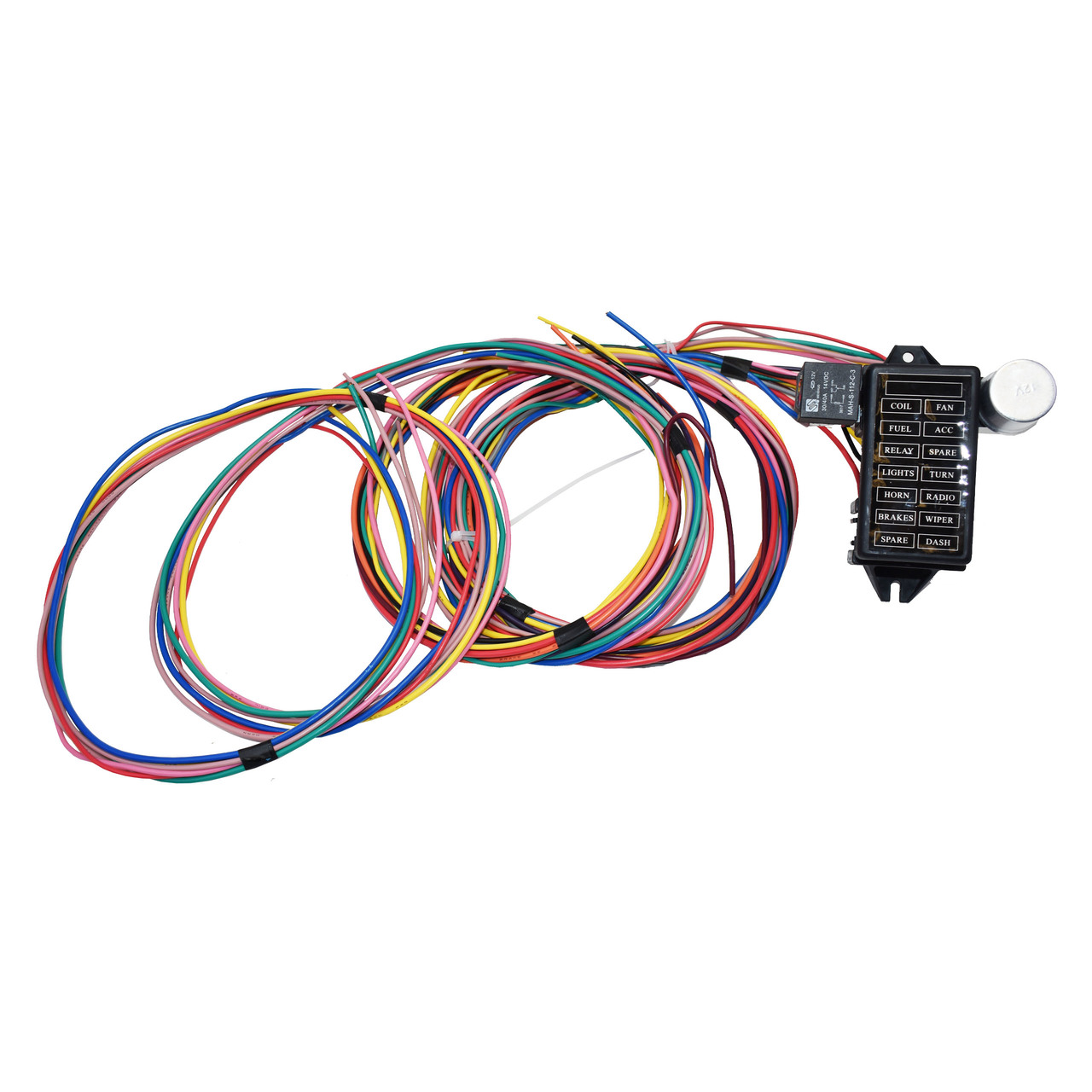 A-Team Performance 14 Circuit Basic Wire Kit Small Wiring Harness Rat  Street Rod Sand Car TruckSouthwest Performance Parts