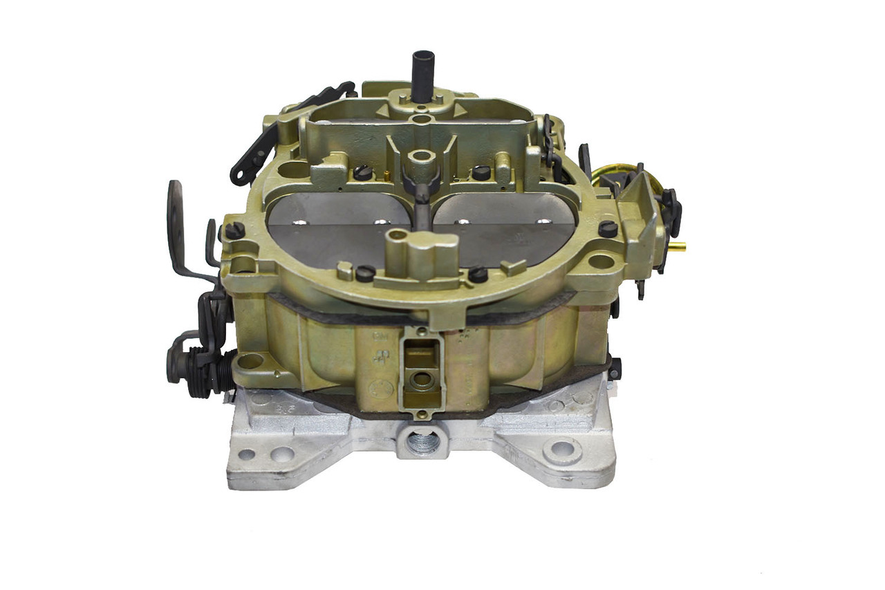 "A-Team Performance 1901GG""OEM GREEN"" Remanufactured Rochester Quadrajet Carburetor 4MV Compatible with 66-73"