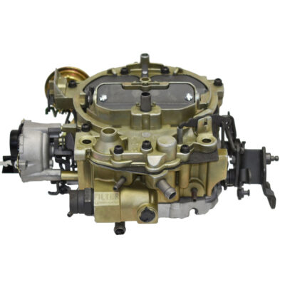 "A-Team Performance 1904GG""OEM GREEN"" Remanufactured Rochester Quadrajet Carburetor 4MV Compatible with 1980-1989 Electric Choke CARB GM/CHEVY"