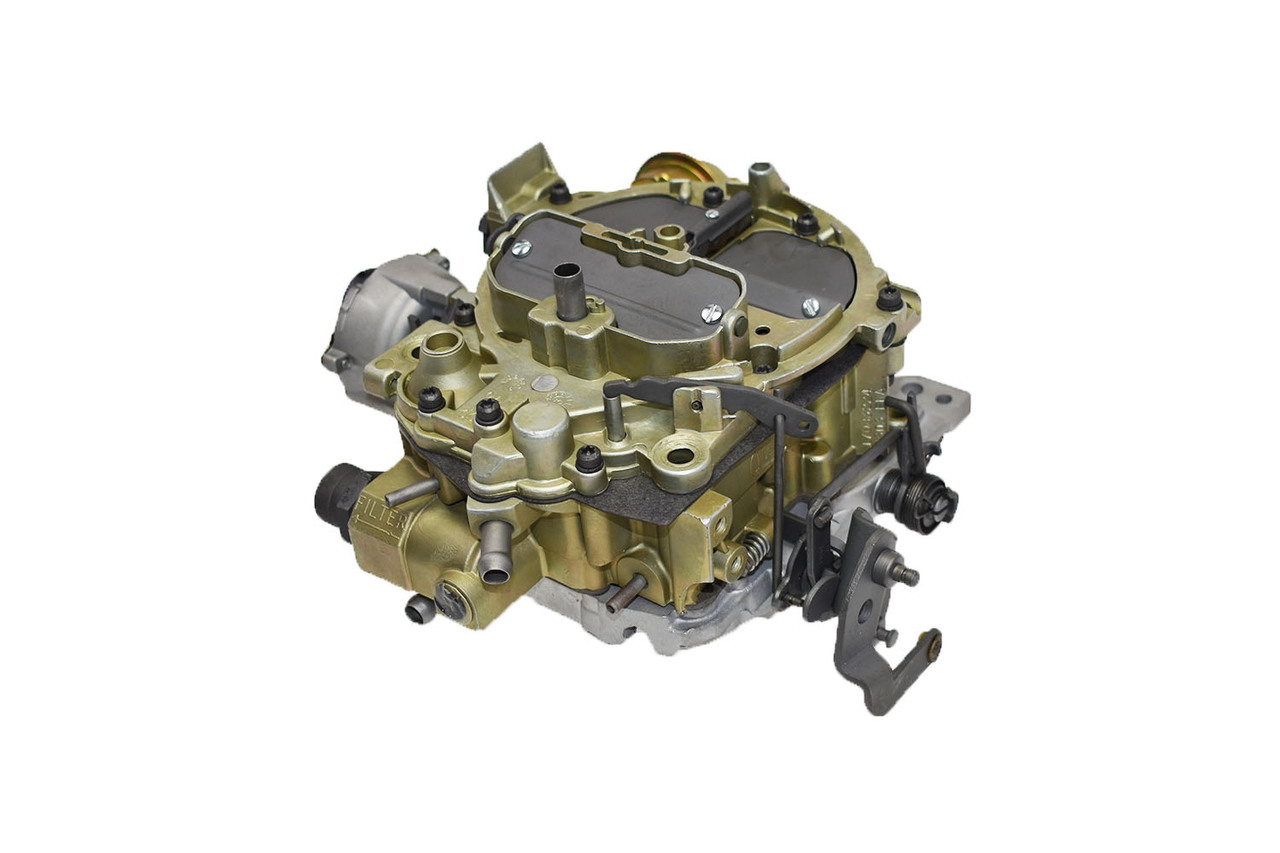 """A-Team Performance 1904GG""""OEM GREEN"""" Remanufactured Rochester Quadrajet Carburetor 4MV Compatible with 1980-1989 Electric Choke CARB GM/CHEVY"""