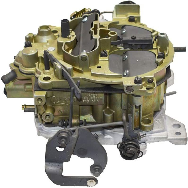 A-Team Performance Remanufactured Rochester Quadrajet Carburetor Compatible with 1981-86 Chevy/GMC Trucks OEM Green