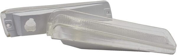 A-Team Performance Front Turn Signal Lights For 73 74 75 76 77 78 79 FORD F-150 F150 Truck and 78-79 Bronco Clear