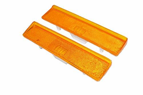 A-Team Performance 2 Side Markers Corner Lamp Parking Light For F150 F250 F350 TRUCK PAIR F-150 80-86, Amber