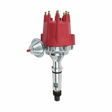 A-Team Performance Pro Series Ready to Run R2R Distributor Compatible With Buick Nailhead 264 322 364 401 425, V8 Engine, Red Cap