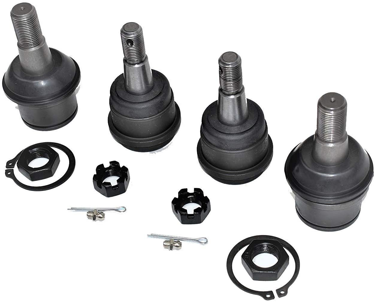 A-Team Performance DODGE RAM 2500 3500 4X4 UPPER & LOWER BALL JOINT SET 00-02