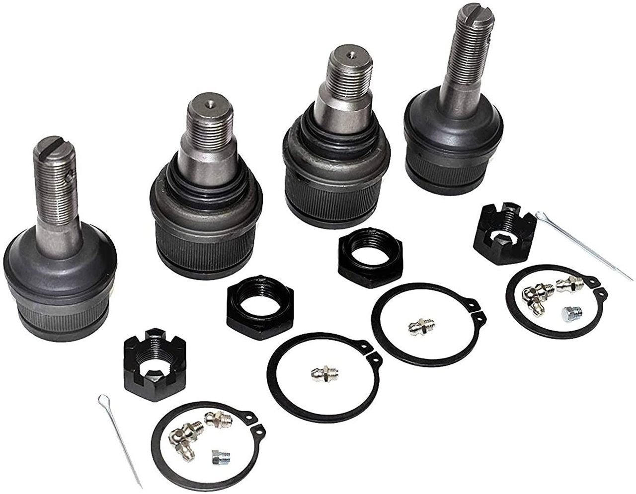 A-Team Performance CHASSIS KIT FORD F250 F350 Super Duty UPPER & LOWER BALL JOINT SET 99-06
