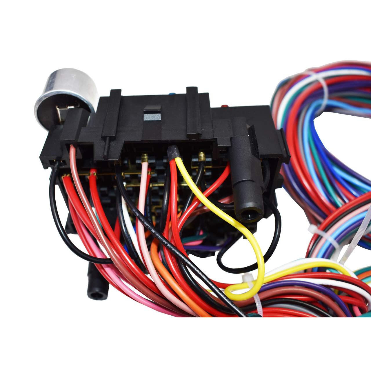 A-Team Performance 21 Circuit Wiring Harness Street Universal Wire Door Locks Radio Power Windows