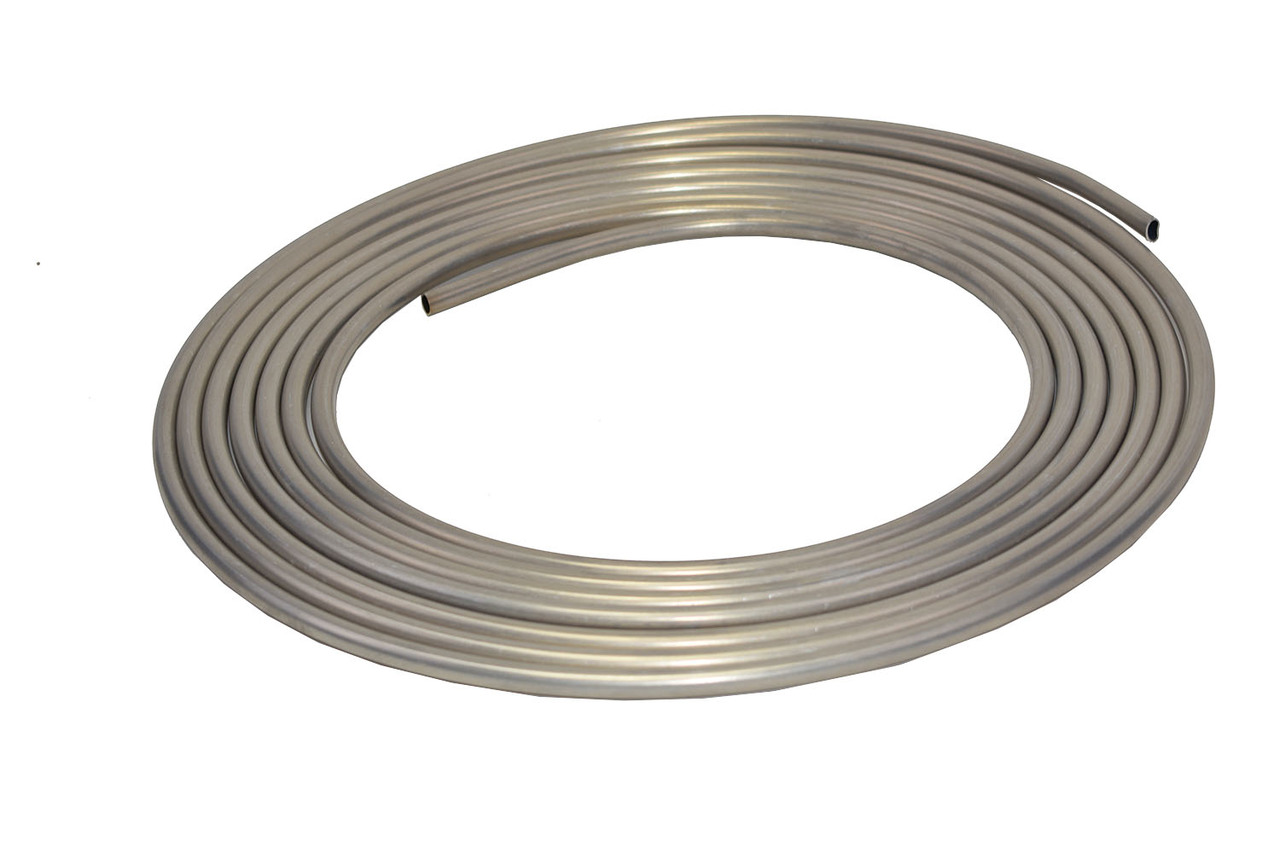 "A-Team Performance 3/8"" Diameter 25' Aluminum Coiled Tubing Fuel Line"