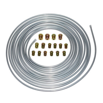 A-Team Performance  25 ft 3/16 Steel Tube Roll with Fittings Brake Line Kit