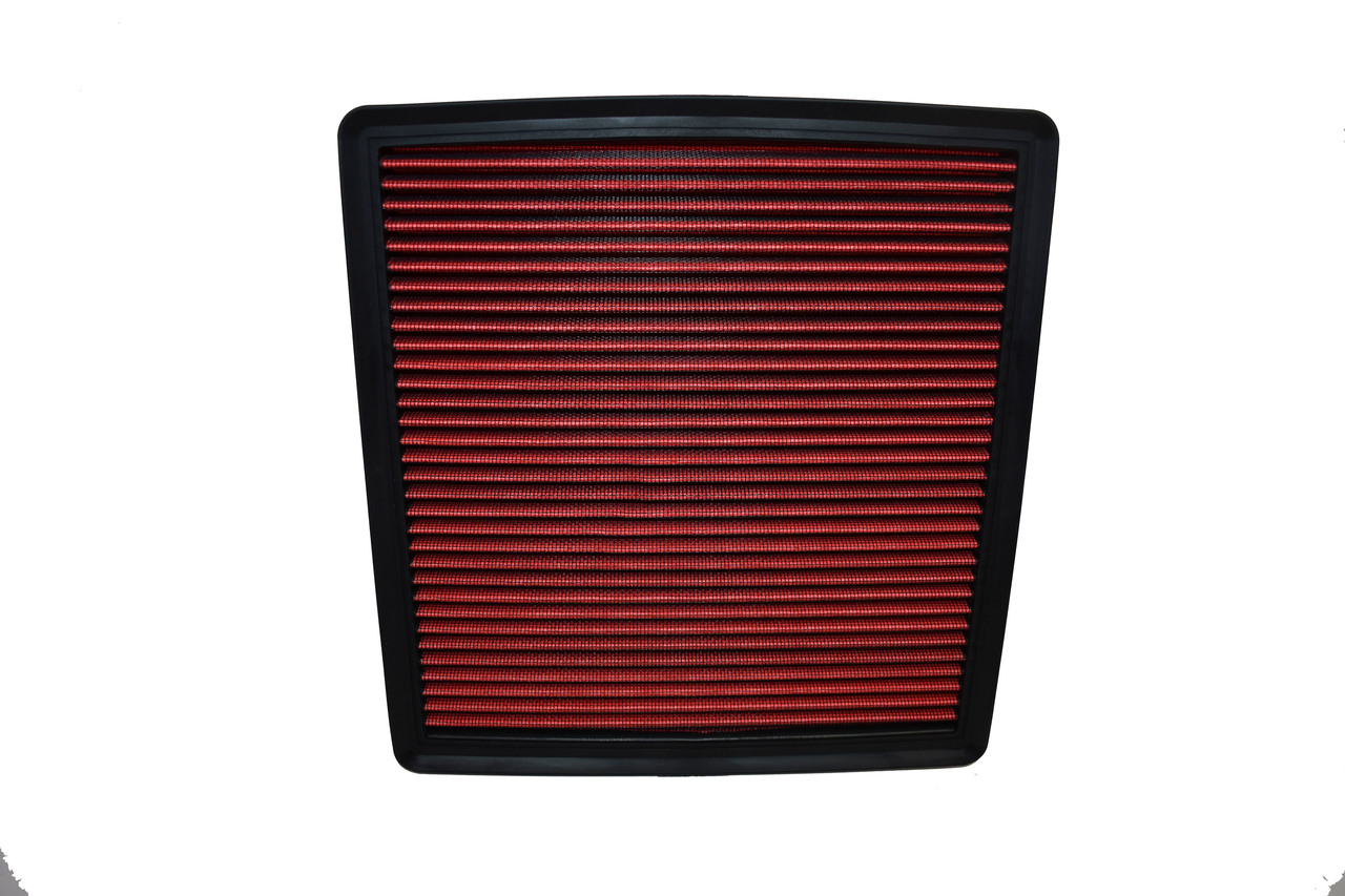 A-Team Performance Engine Air Filter, Washable and Reusable Compatible with 2007-2019 Ford/Lincoln Truck and SUV V6/V8/V10 (F150, F150 Raptor, Expedition, Navigator, F250, F350, F450, F550, F650)
