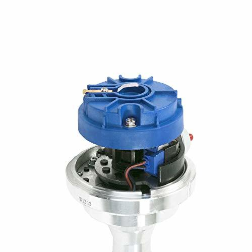 A-Team Performance Pro Series Ready to Run R2R Distributor Compatible With 1951 to 1964 Studebaker 232 259 289 304, V8 Engine, Blue Cap