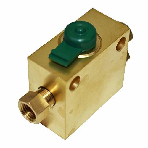A-Team Performance Universal Brake Metering Hold Off Valve Hot Rod 3/8 INF 3/16 Line For Ford GMC