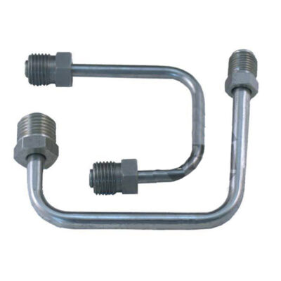 """A-Team Performance Bottom Mount Steel Proportioning Valve Lines; 9/16"""" & 1/2"""" Fittings to Master"""