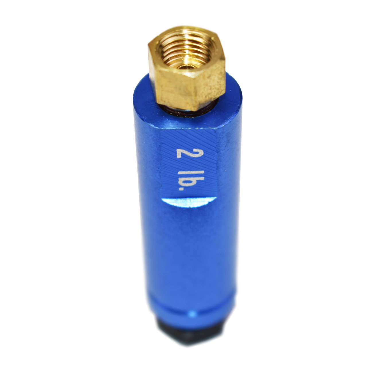 "A-Team Performance 3/8"" FITTINGS RESIDUAL CHECK VALVE BLUE - 2 lbs. (DISC BRAKES)"