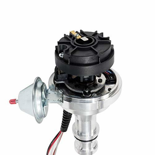 A-Team Performance Pro Series Ready to Run R2R Distributor for Ford 351C 351M 400M 370 429 460 BBF, V8 Engine, Black Cap