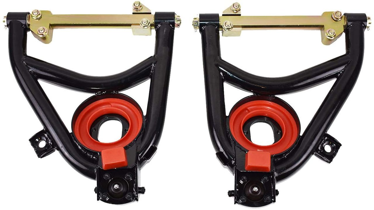 Tubular Heavy Duty Upper Control Arms For 1955-1957 Chevy Belair Powder Coated