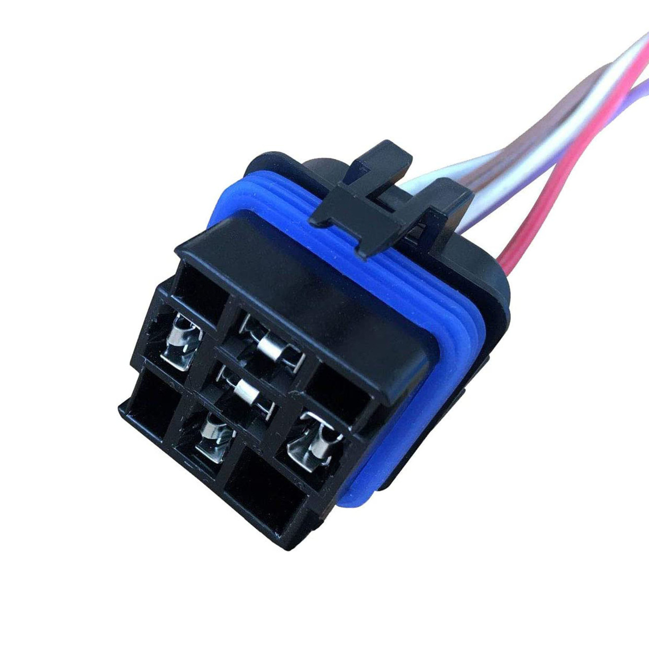 """A-Team Performance Automotive Change-Over Relay 5-Pin Terminal Waterproof General Purpose 12 Volt 40 Amp and 12"""" Connector Pigtail Set Sealed Unit"""