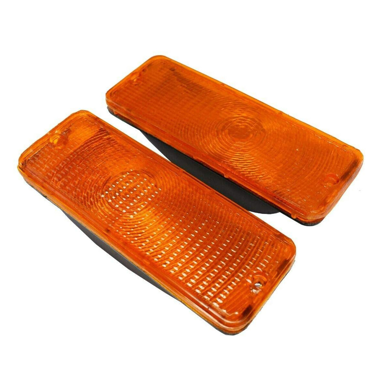 A-Team Performance Front Turn Signal Lights for 73 74 75 76 77 FORD F-150 F150 F250 F350 Truck, Amber
