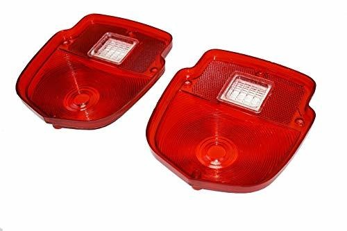 A-Team Performance TAIL LIGHT LENS 1953 1954 1955 1956 FORD PICKUP TRUCKS F100 F-100 PAIR W/Backup