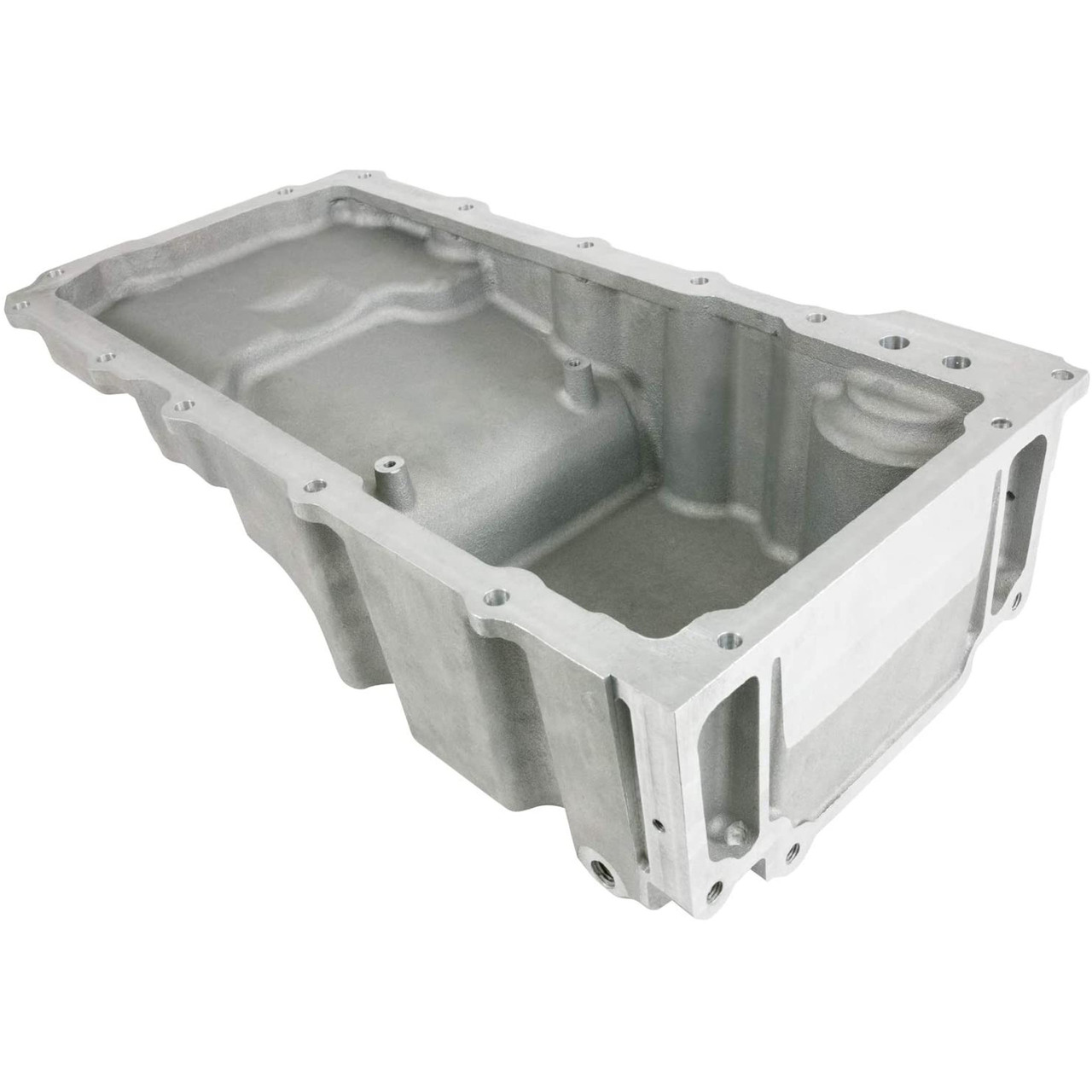 A-Team Performance LS Aluminum Rear Sump Low-Profile Retro-Fit Oil Pan for Chevrolet