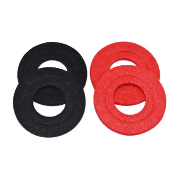 A-Team Performance Battery Anti Corrosion Washers (2 Red & 2 Black)