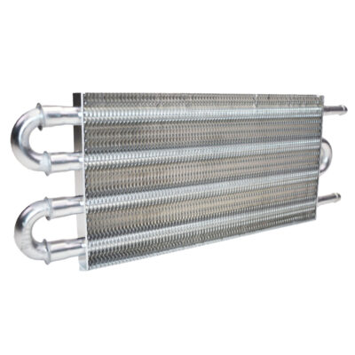"A-Team Performance Aluminum Tube & Fin Transmission Universal Oil Cooler, 12 3/4"" x 5"""