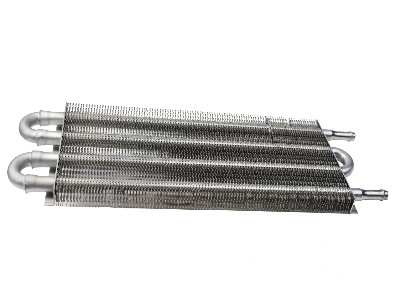 "A-Team Performance Aluminum Tube & Fin Transmission Universal Oil Cooler, 15 1/2"" x 5"""