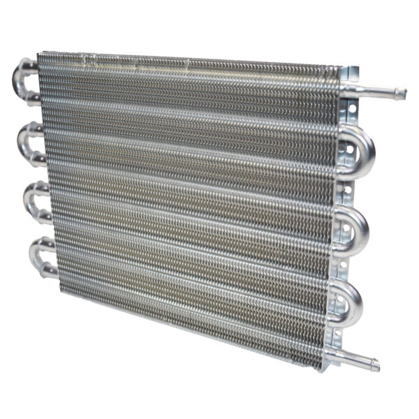"""A-Team Performance UNIVERSAL TRANSMISSION OIL COOLER 15-1/2"""" x 10"""" x 3/4"""""""