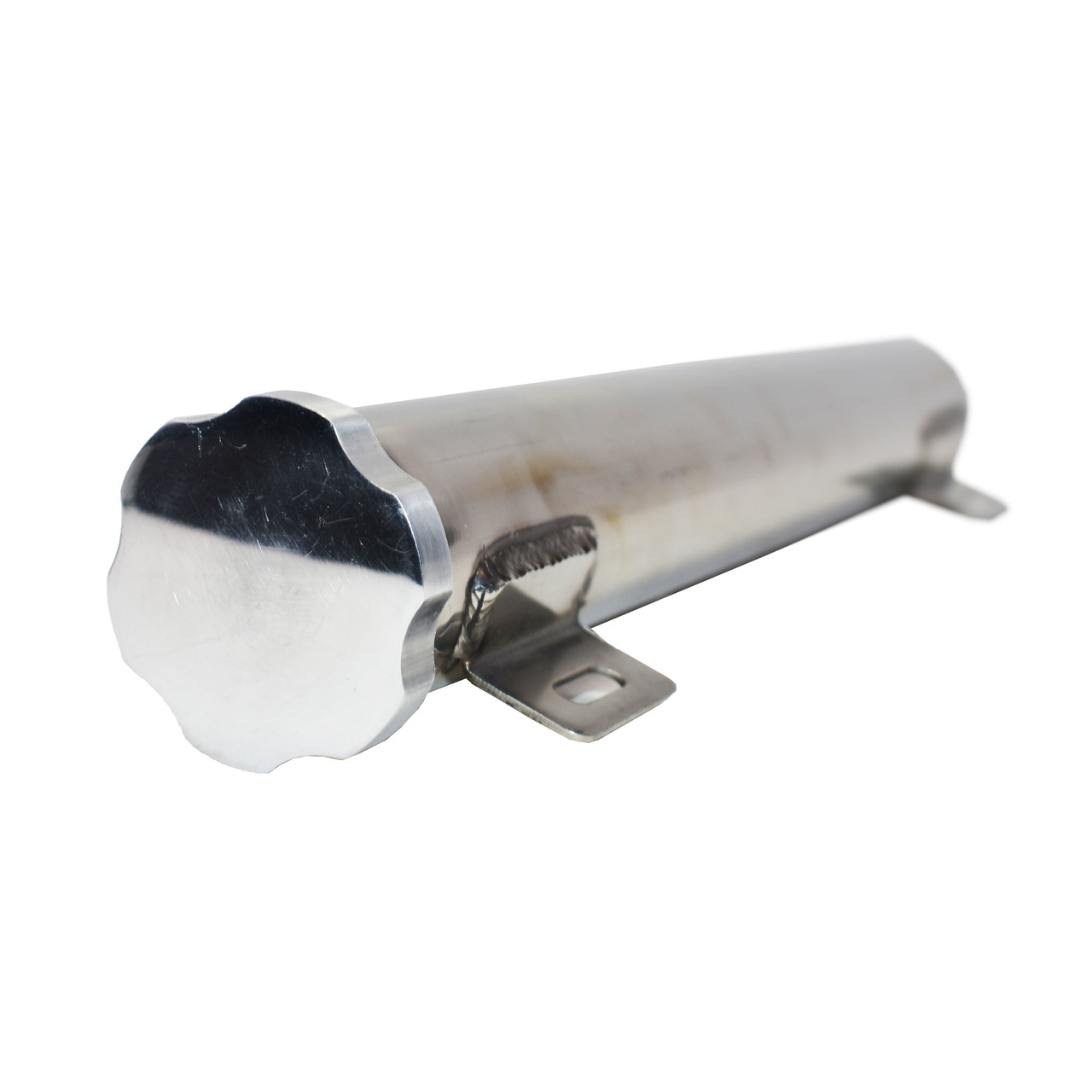 "A-Team Performance 2"" X 13"" Stainless Steel Overflow Tank"