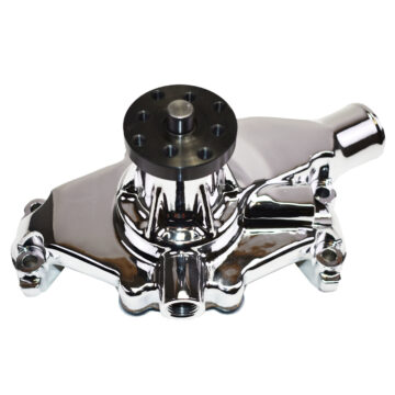 A-Team Performance GM SBC SWP HIGH VOLUME CHROME WATER PUMP