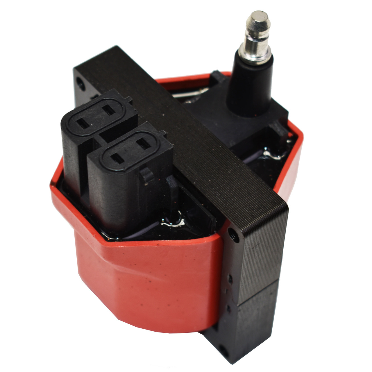 A-Team Performance EFI 84-95 Dual Connector E-Core Ignition Coil Compatible with GM/CHEVY V6 / V8 TBI SBC BBC