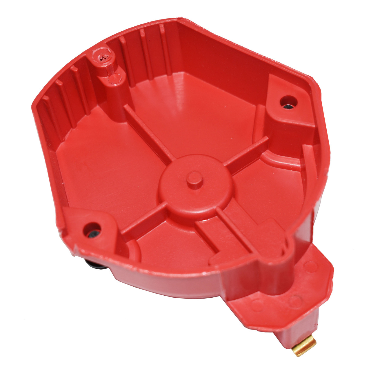A-Team Performance CR6R HEI OEM Distributor Cap, Rotor and, Coil Cover Kit Red 6 Cylinder