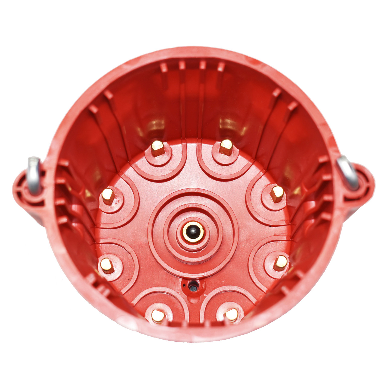 A-Team Performance  8-Cylinder Male Pro Series Distributor Cap & Rotor Kit (Red)