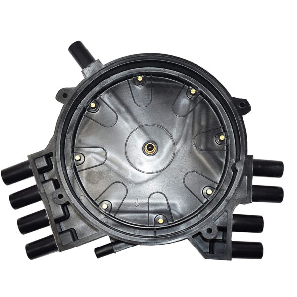 A-Team Performance Black Optispark Cap and Rotor Kit Compatible with 1995-1997 GM LT1 SB Small Block Chevrolet 350