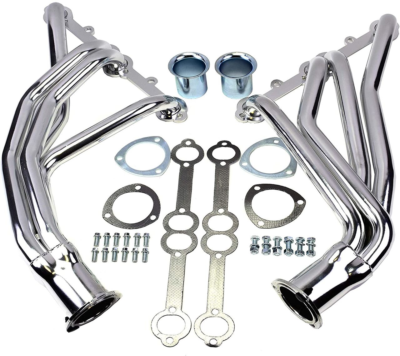 A-Team Performance SBC CHEVY/GMC TRUCK 66-87 C10 C20 K10 K20 305 327 350 383 400 CERAMIC COATED HEADERS