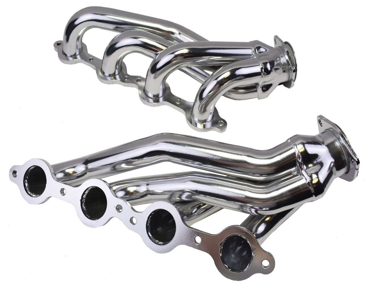 A-Team Performance LS SWAP 60's & 70's CAMARO CHEVELLE NOVA C10 MID LENGTH CERAMIC COATED HEADERS