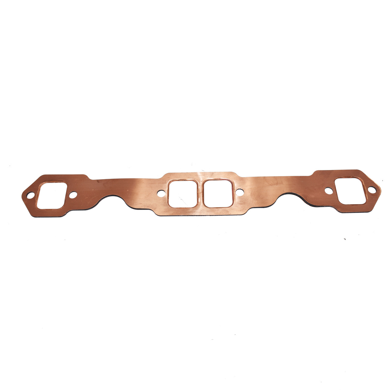 A-Team Performance SBC Rectangle Port Copper Header Exhaust Gaskets Reusable Chevy 305 327 350 383