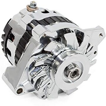 A-Team Performance GM CS130 Style 160 Amp Alternator with V-belt Pulley