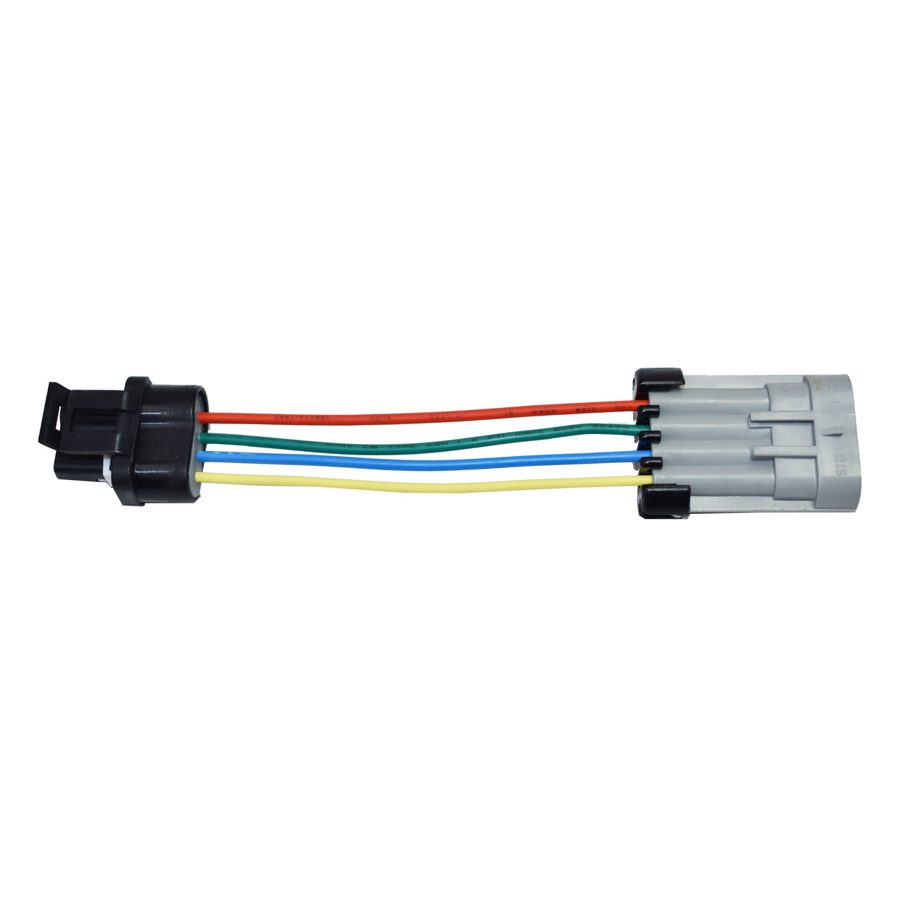 A-Team Performance 4 Pin Alternator Conversion Plug Harness Kit Compatible with GM Chevy CS130 to CS130D AD244 AD237