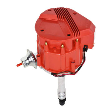 A-Team Performance HEI Distributor 65K Coil 7500 RPM Compatible with Chevrolet Chevy GM GMC Small Block Big Block SBC BBC 262 265 267 283 302 305 307 327 350 383 400 SBC &396 427 454 Super Red Cap