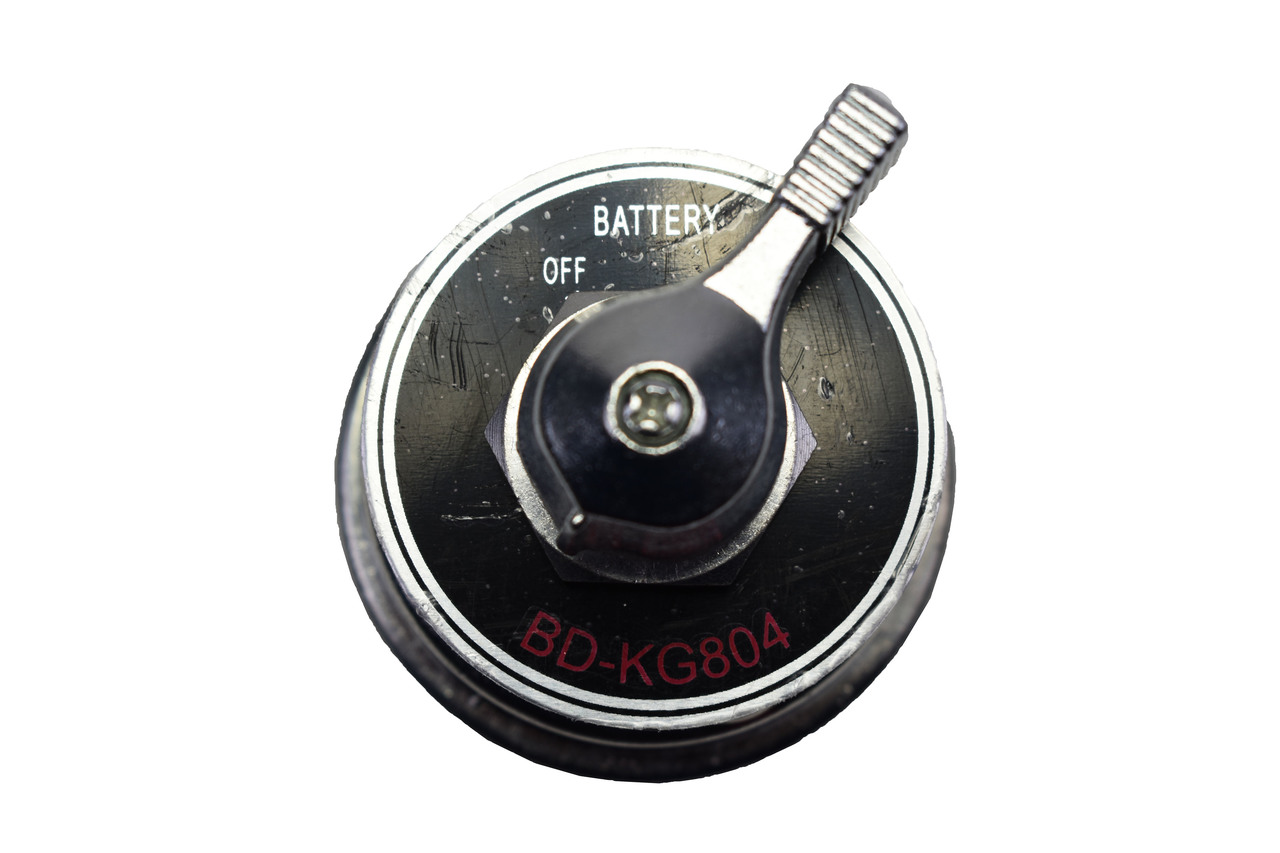 A-Team Performance High Current Master Battery Disconnect Switch with Face Plate